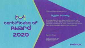 Merck 2020 Ödülü